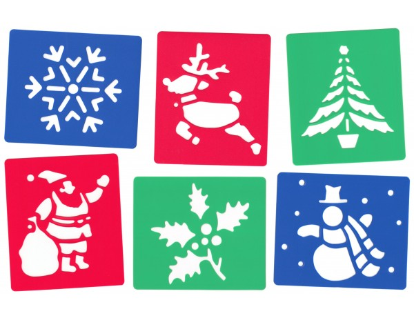 Christmas Stencils Pack