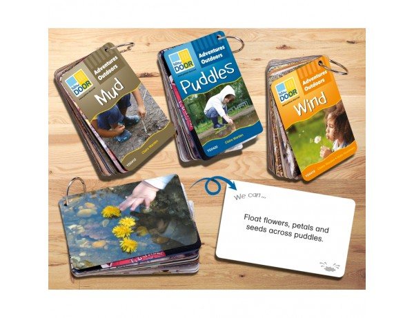 Adventures Outdoors Activity Cards - Mud