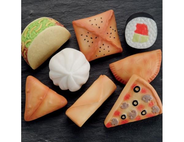 Foods of the World – Sensory Play Stones