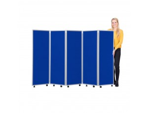 Mobile Foldable Screens Nyloop Fabric (1500mm High)
